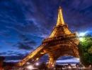Эйфелева башня, Париж, Франция. (1889 г.)
