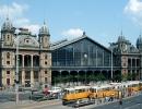 Западный железнодорожный вокзал, Будапешт, Венгрия. (1877 г.)
