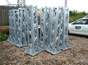 Поставка металлоконструкций ОРУ